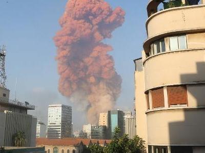 Notícias | Explosão deixa feridos em Beirute, capital do Líbano; veja fotos