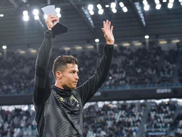 Juventus empata, Ronaldo recebe prémio de melhor jogador