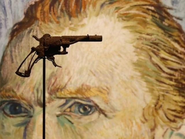 'Arma com que Van Gogh se matou' vai a leilão