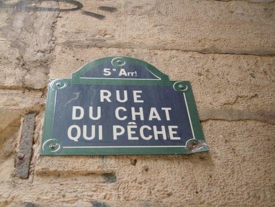 Rua do Gato-que-pesca, Paris, Yolanda Foldes