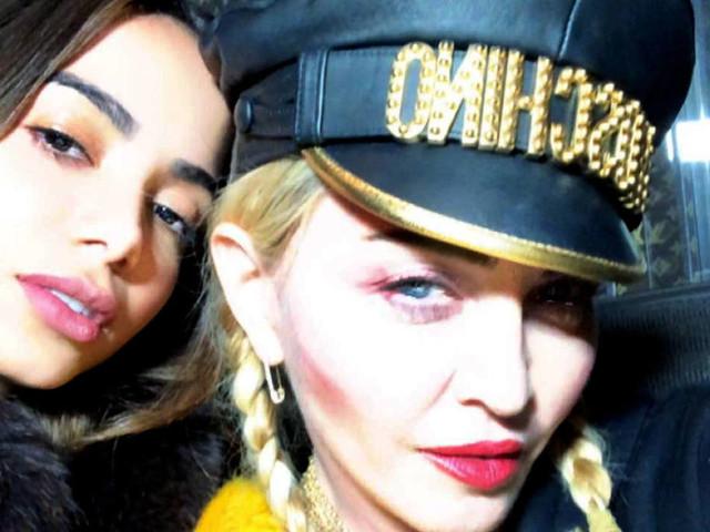 Anitta ensinou português para Madonna e chorou ao ouvir música que gravou com a cantora