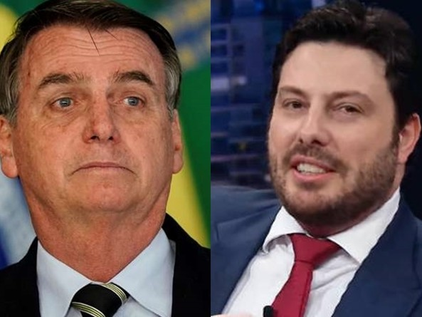"""Danilo Gentili rasga o verbo e acusa Bolsonaro de pedir sua demissão no SBT: """"Mentiroso"""""""