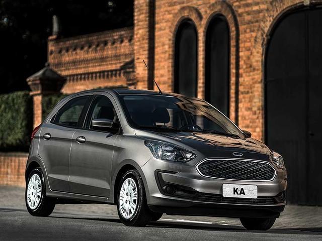 Ford Ka 2020 fica mais caro e versões topo perdem airbag de cortina