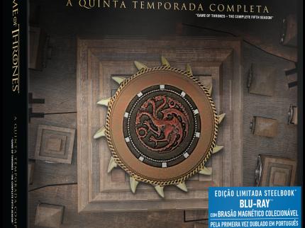 SteelBook da QUINTA temporada de Game of Thrones já pode ser reservado no Brasil