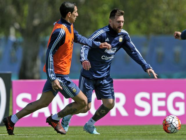 Di María diz que só Messi tem lugar garantido na Copa do Mundo
