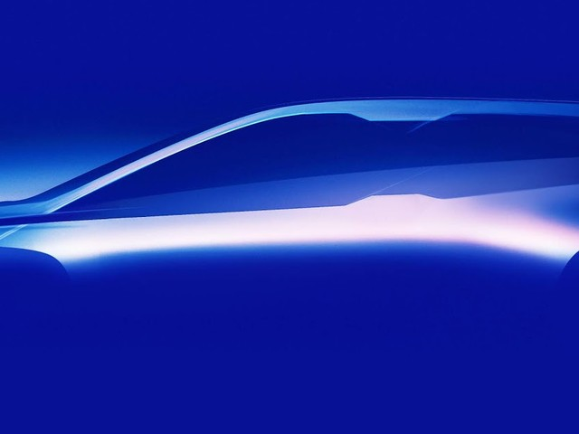 BMW revela 1ª foto do iNEXT