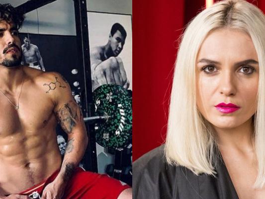 """Monica Iozzi se cansa, revela envolvimento amoroso com Caio Castro e expõe desgosto: """"Decepção"""""""