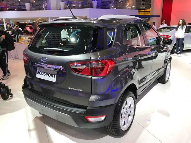Salão do Automóvel 2018: Ford EcoSport sem estepe na tampa chega em 2019