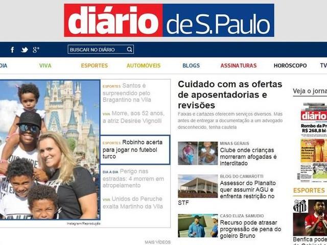 Justiça decreta a falência do jornal 'Diário de S.Paulo'