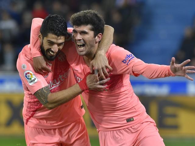 Veja fotos de Alavés x Barcelona pelo Campeonato Espanhol