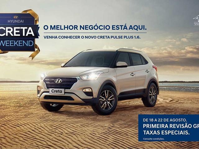 Hyundai Creta tem primeira revisão grátis em campanha