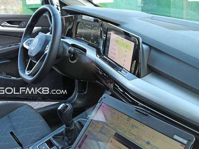 Novo VW Golf 2020 mk8 tem interior de alta tecnologia revelado nos EUA - fotos