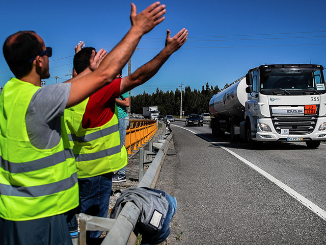 Greve dos motoristas: Conflito entre sindicatos divide CGTP