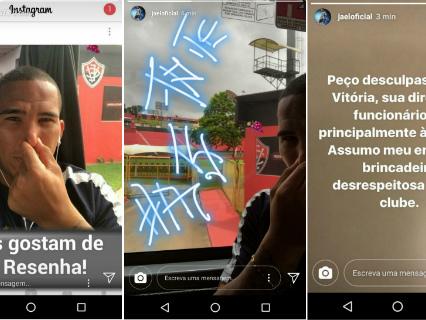 Ex-Bahia, Jael ironiza Barradão e depois pede desculpas