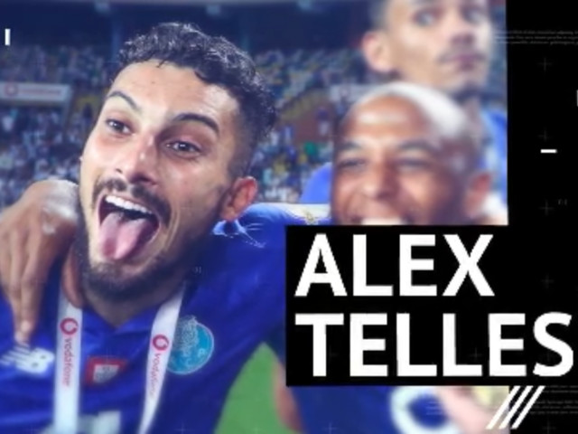 Lateral-esquerdo do Porto, Alex Telles na Primeira Liga
