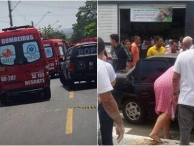URGENTE: Menino filho de PM abre fogo em escola de Goiânia; há mortos e feridos