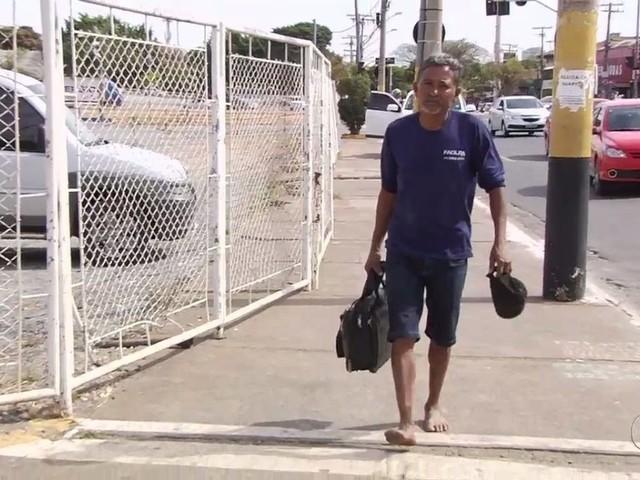 Segurança é suspeito de agredir índio porque ele estava descalço na rodoviária de Goiânia