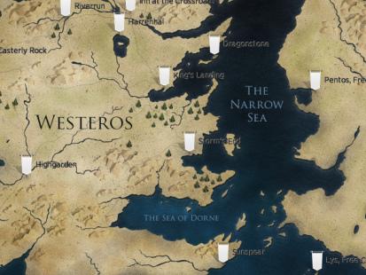 Game of Thrones: a importância da geografia na construção de mundos (+super promoção da Amazon)