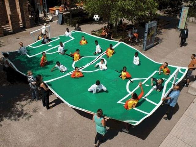 Futebol Inusitado: flutuando