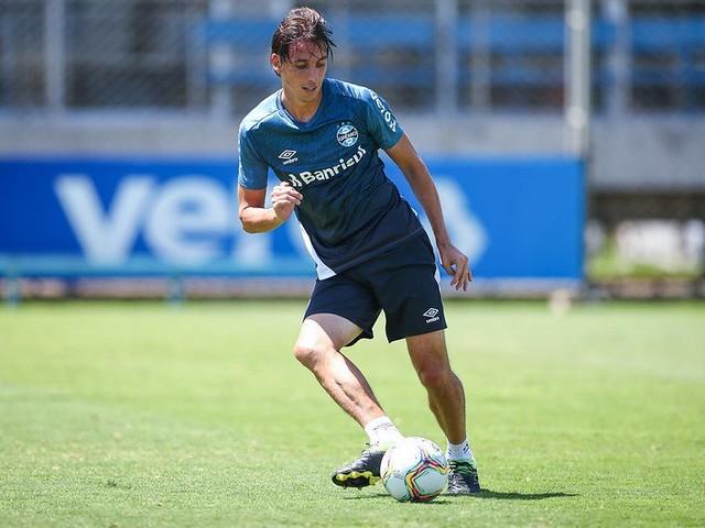Com Geromel, Grêmio termina preparação para final contra o Caxias