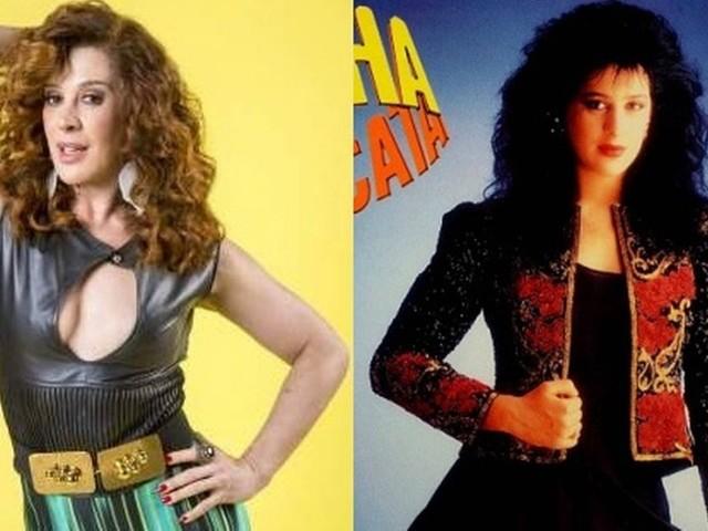 Em 'Verão 90', Lidiane vê 'bailarina da coxa grossa' de 'Rainha da Sucata': 'Essa Claudia Raia é apagadinha pessoalmente'