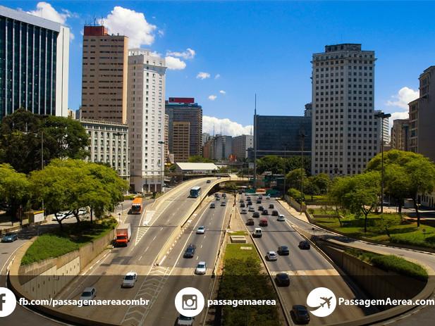 Passagem aérea para São Paulo no feriado prolongado