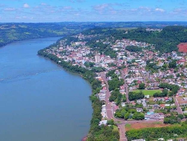 Lideranças gaúchas e catarinenses se unem por ponte sobre o Rio Uruguai