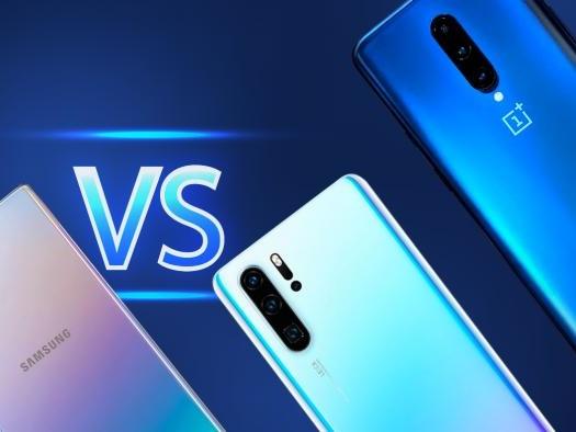 Galaxy Note 10 vs Huawei P30 Pro vs LG G8 vs Oneplus 7 Pro: qual leva a melhor?