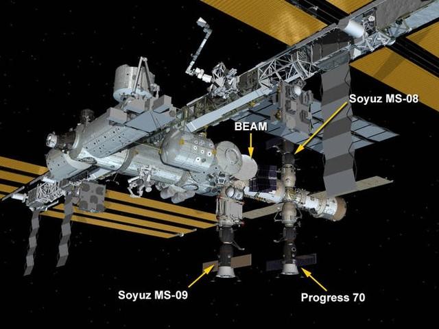 El incidente en la Estación Espacial