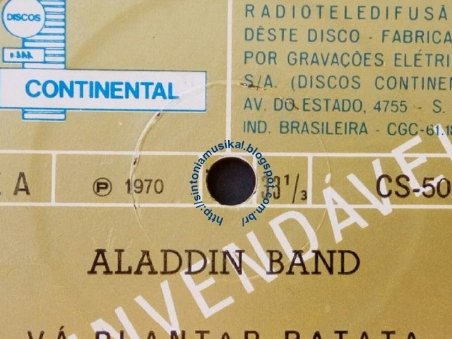 Aladdin Band - Vá plantar batata (CS 1970)