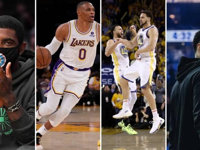 NBA: de Irving a Westbrook, quatro histórias para ficar de olho na 75ª temporada da liga, que começa hoje