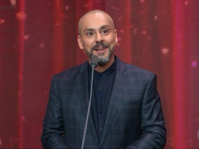 Alexandre Nero surpreende, elogia Lula ao vivo no Melhores do Ano do Faustão e gera climão