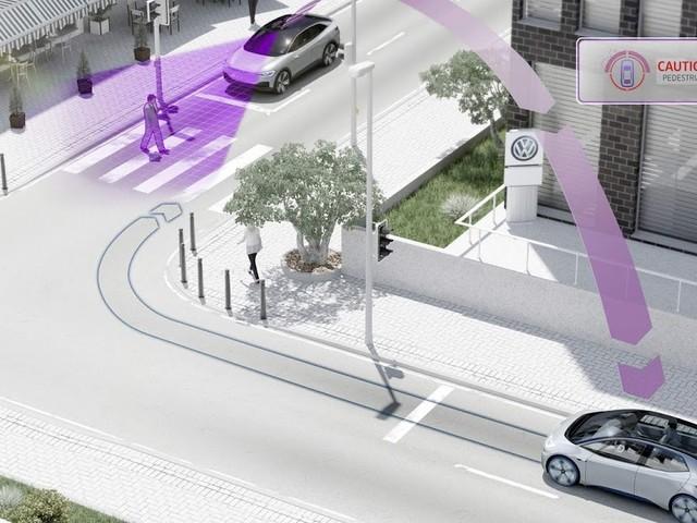 Modelos VW terão comunicação carro a carro em 2019