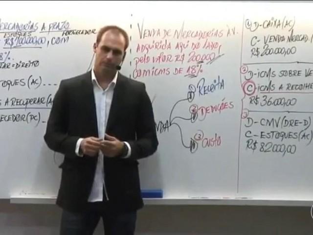Celso de Mello e Alexandre de Moraes reagem à fala de Eduardo Bolsonaro sobre fechamento do STF