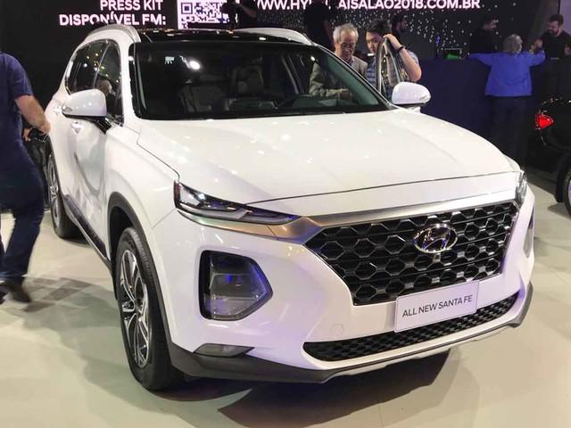 Por R$ 297.300, novo Hyundai Santa Fe pode levar sete ocupantes