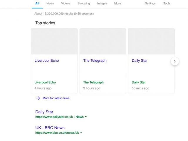 Google mostra como ficaria se União Europeia aprovar lei de direitos autorais