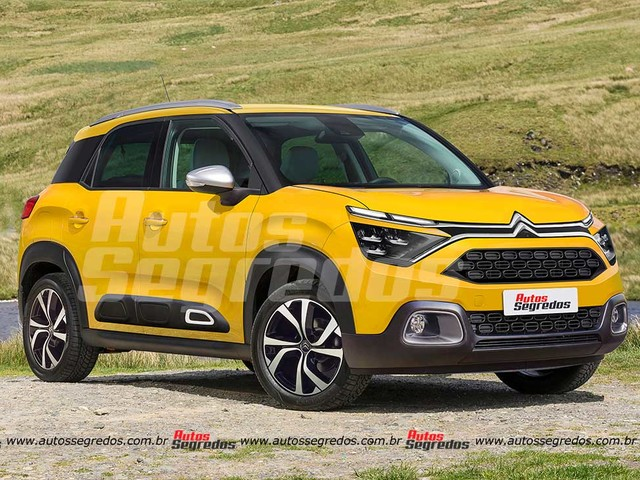 Projeto CC21: Veja o visual do Citroën C3 2022 para países emergentes