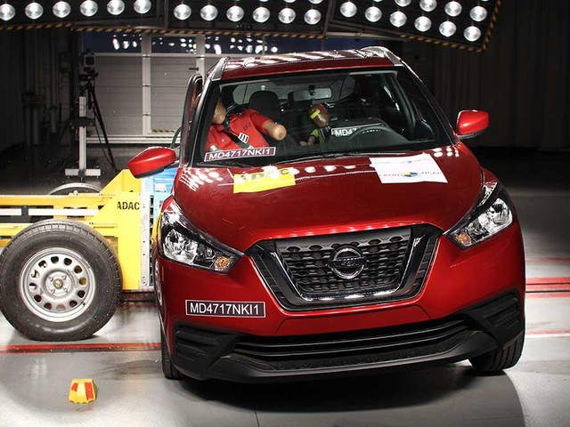Nissan Kicks consegue quatro estrelas nos testes do Latin NCAP