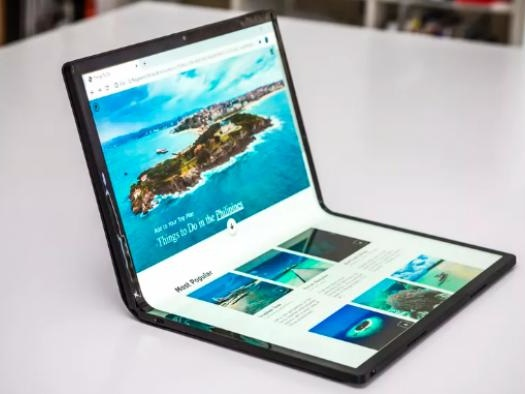 CES 2020 | Intel revela laptop de 17 polegadas com tela dobrável