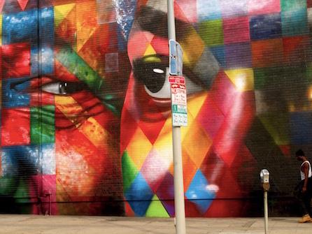 I murales spettacolari di Eduardo Kobra