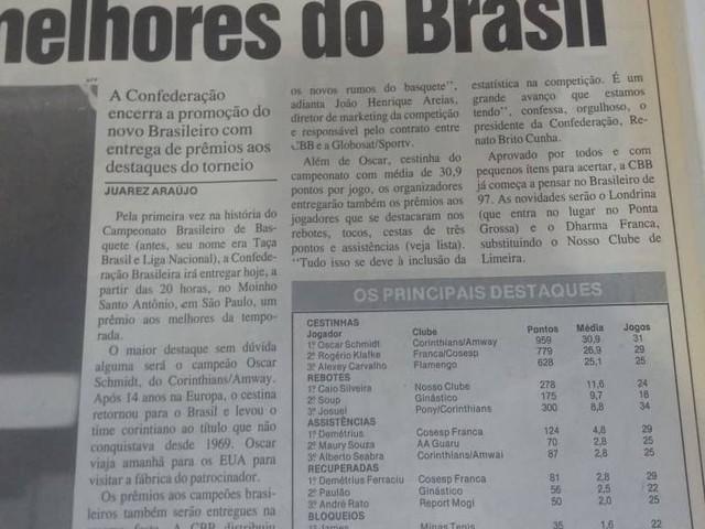 Veja registro da Gazeta Esportiva sobre os duelos Corinthians x Corinthians