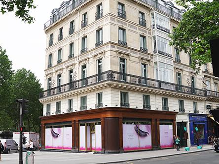 Hotel Fauchon na praça Madeleine