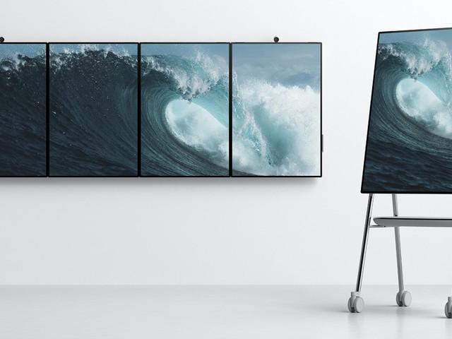 Microsoft adia principais recursos no software do Surface Hub 2 para 2020