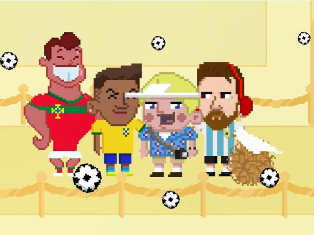 Neymar, Tite, Messi e outros personagens estão em game sobre a Copa