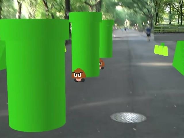 Vídeo mostra como Super Mario Bros. ficaria em realidade aumentada