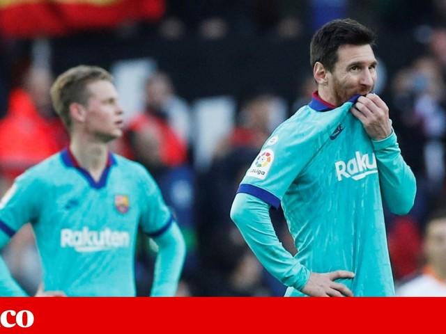 Barcelona deixa três pontos em Valência