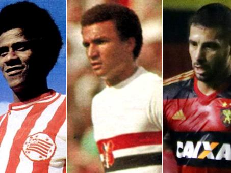 Os maiores artilheiros do Nordeste no Brasileirão, com Jorge Mendonça, Ramon e Diego Souza à frente no Trio de Ferro