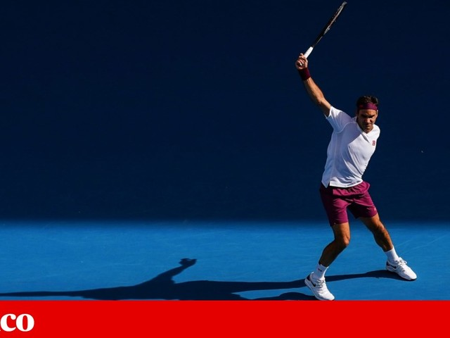 Roger Federer escapa a sete match-points