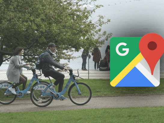 Google Maps Releases a Service With Real-Time Information on Shared Bicycles