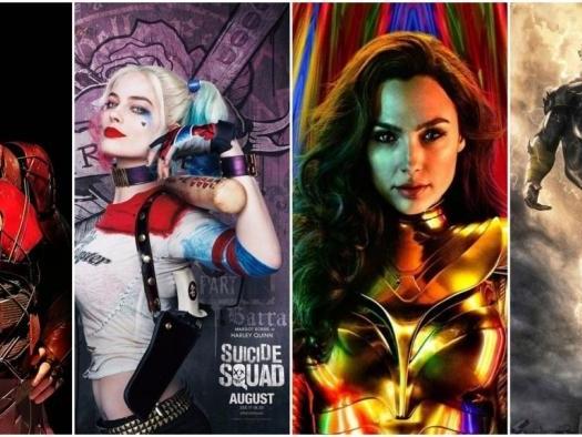 Veja as datas de todos os próximos filmes da DC confirmados até agora